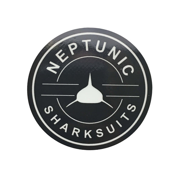 "3"" Neptunic Sharksuit Vinyl Circle Decal"