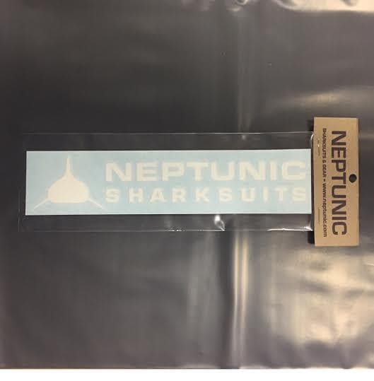 "Neptunic Car Vinyl Decal 9"" x 2"""