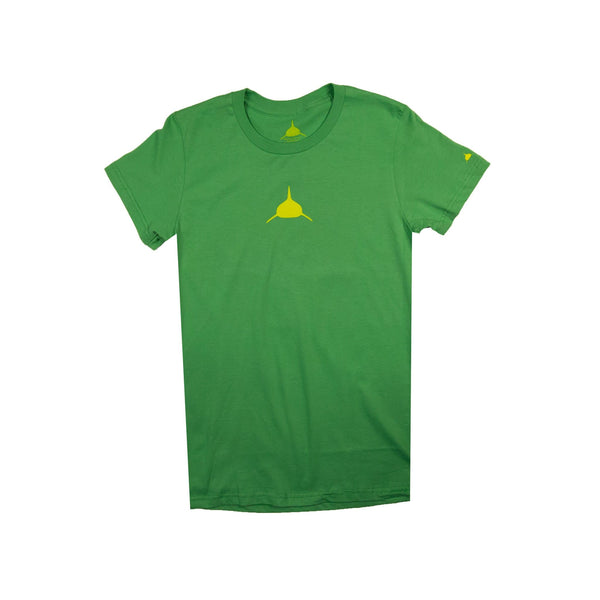 Neptunic Youth Tee in Green and Yellow