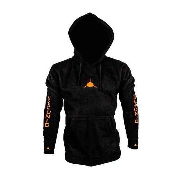 Neptunic Sharksuits Pullover Black Hoodie. San Diego, CA.
