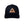 Neptunic Triangle Leather Patch Hat in Black