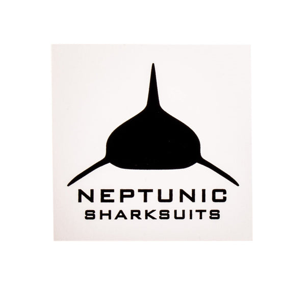 Sharksuits Decal - White Square