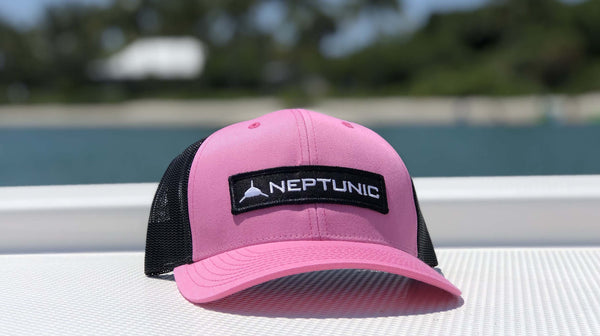 Neptunic Pink Patch Hat