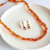 Beads Necklace and Earrings Set – Vital Energy Booster