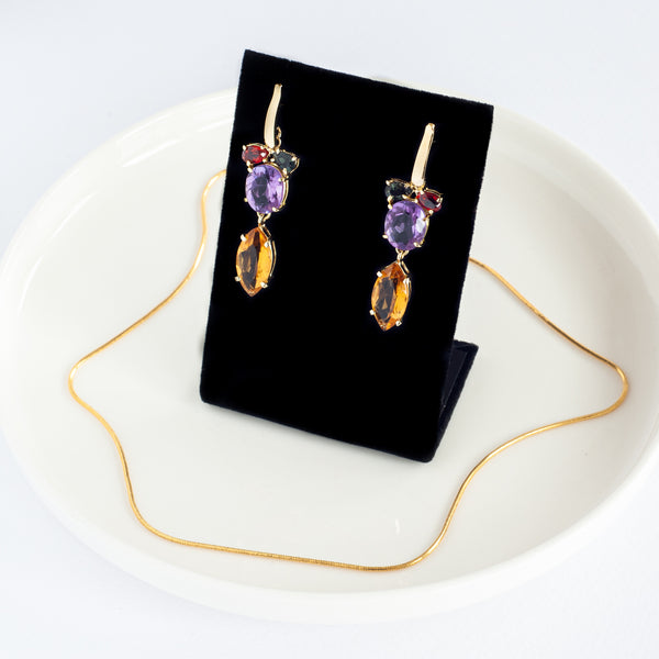 Dress to Impress - Unique Gold Plated Earrings