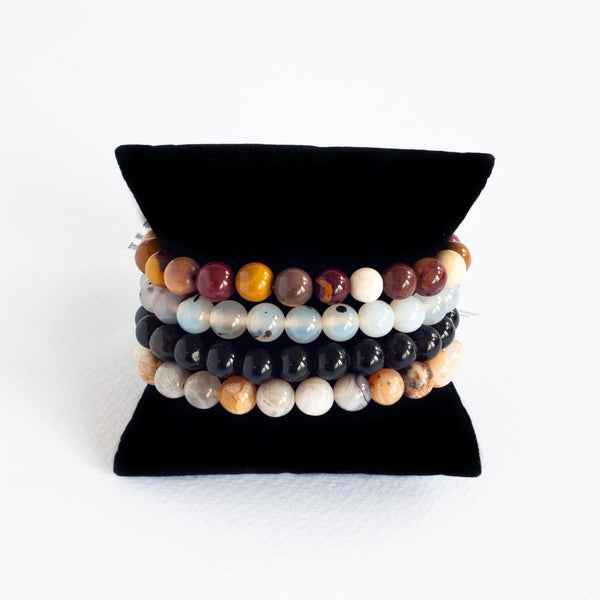 Beads Bracelet Set - Supporting Difficult Times