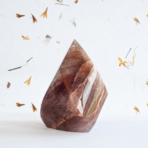 Intense Rutilated Quartz - Special Cut