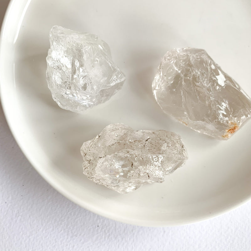 Clear Quartz - Rough Stones