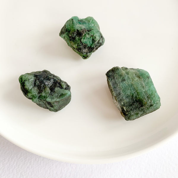Emerald - Rough Stones