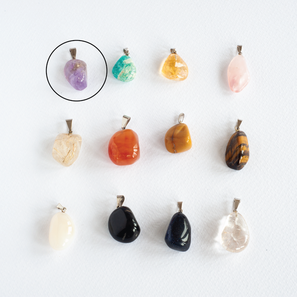 Tumbled Stones Pendants