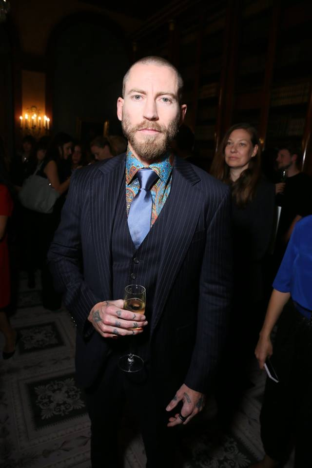 Justin O'Shea, (Buyer of MyTheresa.com) Golpira