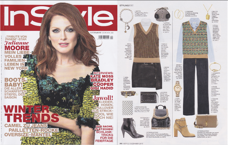 InStyle features Golpira Worldcitizen pendant Jewelry Schmuck
