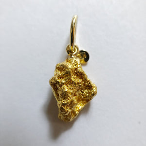 Gold Nugget Pendant No. 963