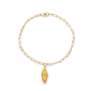 Gold Nugget Armband