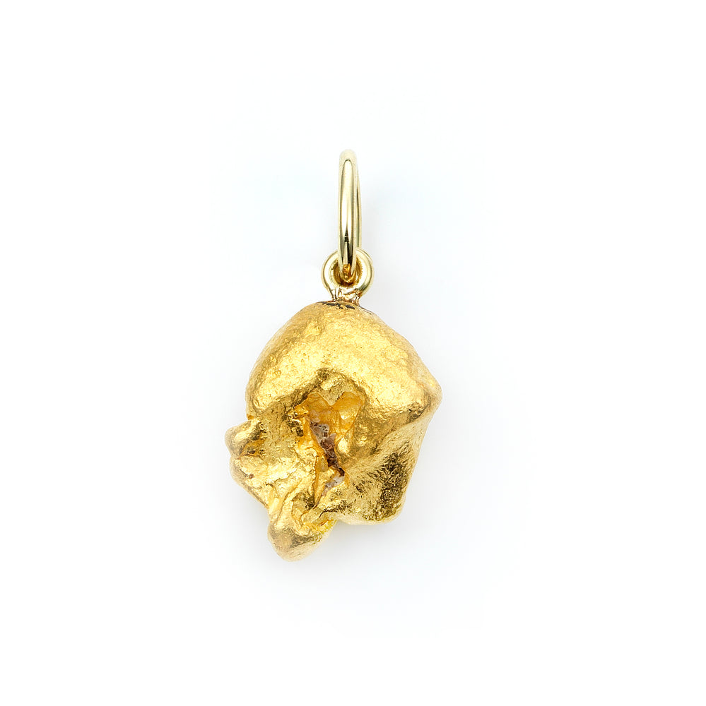 Gold Nugget Pendant No. 701