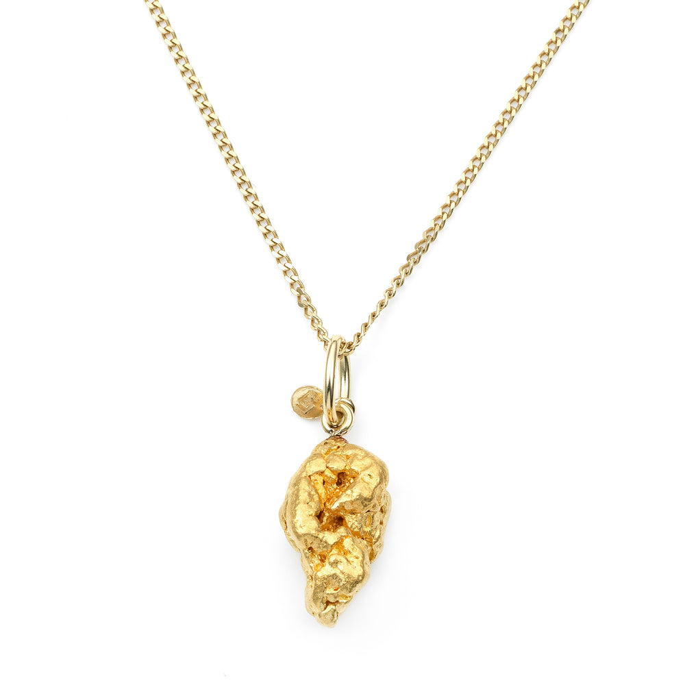 Gold Nugget Pendant No. 718
