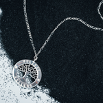 Load image into Gallery viewer, SILVER TREE PENDANT
