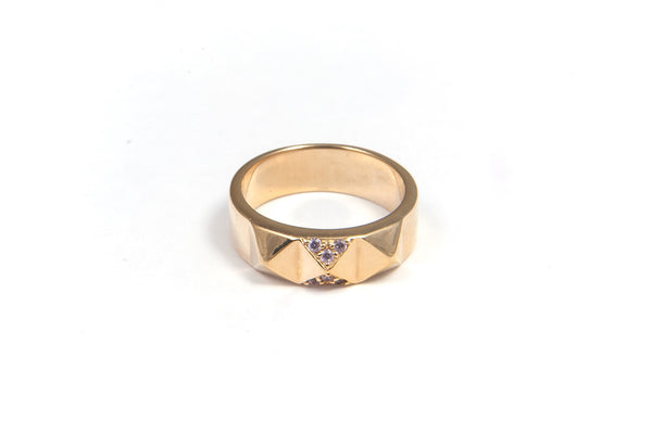 Sahara midi ring - gold