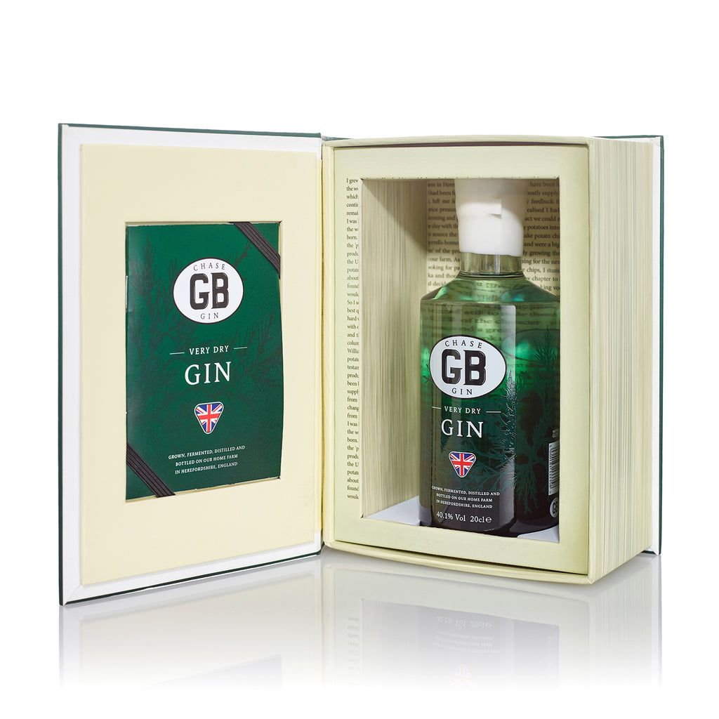 Chase GB Gin in Book Box, 40%