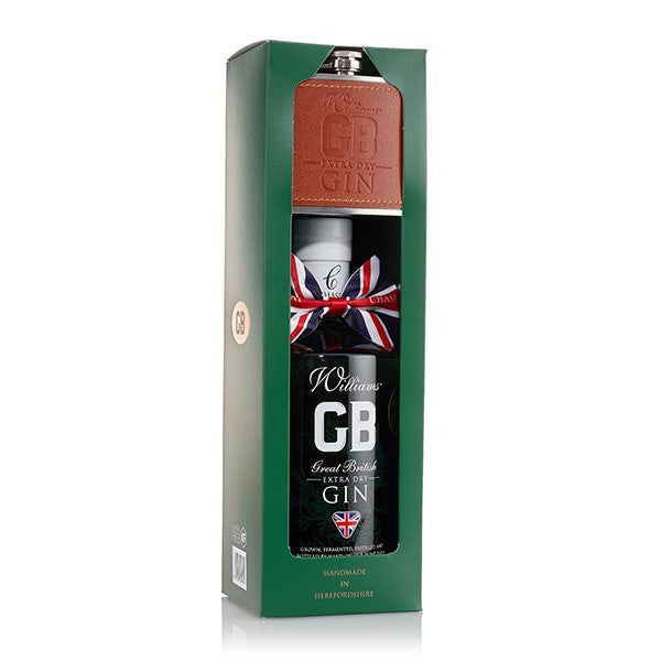 Williams GB Gin with Hip Flask 70cl