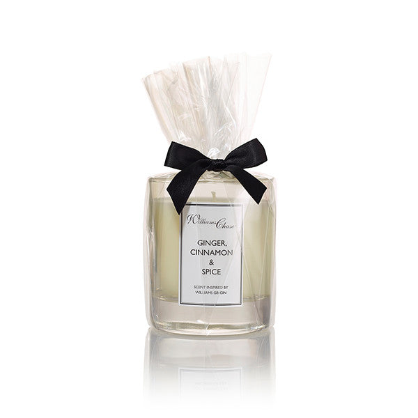 Williams GB Gin Candle; Ginger, Cinnamon & Spice