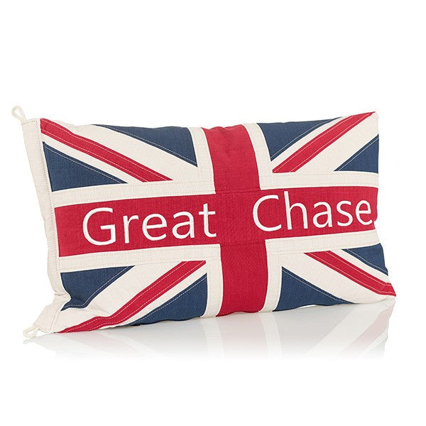 Great Chase Union Jack Cushion