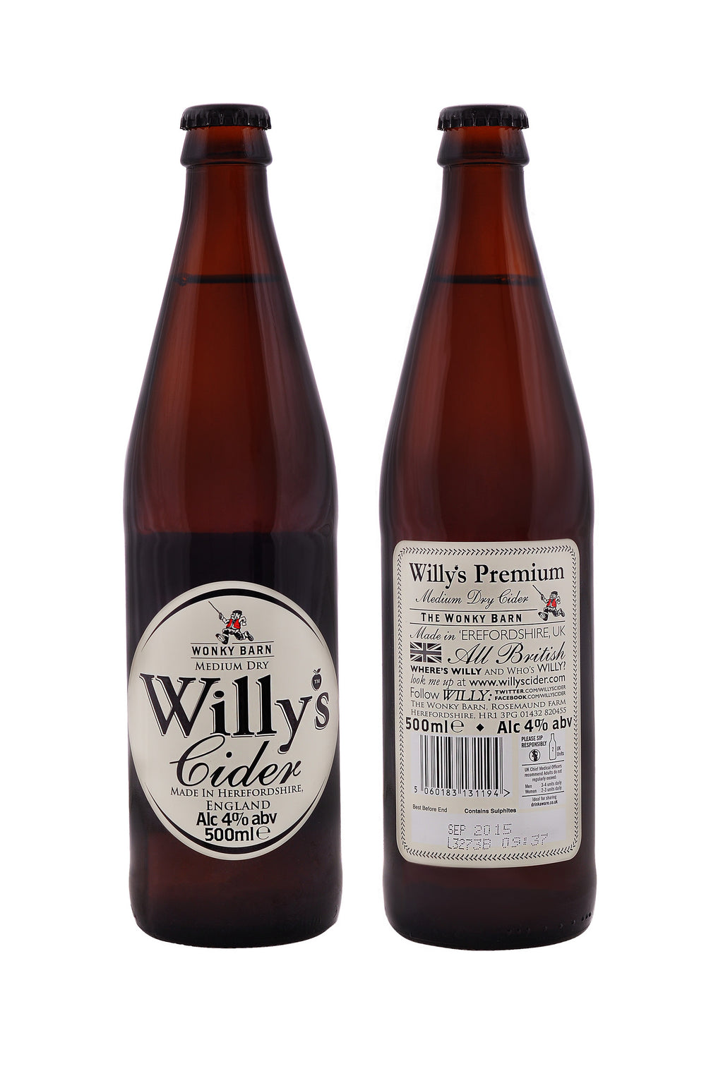 Willy's Cider (case of 12)