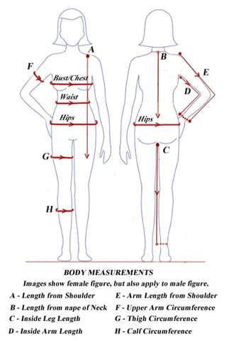 Women's Body Measurements | Fit and Fabric