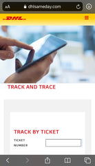 Track My Order   Grand Royalty Tracking Number With DHL International