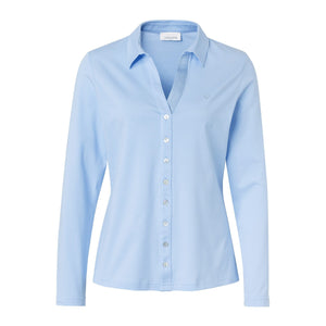 Just White Plain Shirt 42999 (available in different colours) - Lucindas on-line