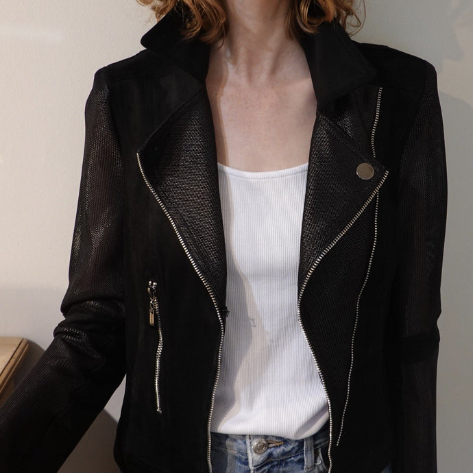 Extenzo faux leather jacket - WARRIOR - Lucindas on-line