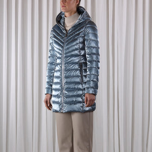 Rino & Pelle colette padded coat 700W20 (available in blue and grey) - Lucindas on-line