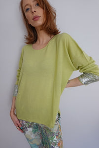 Ochre cashmere knit - Lucindas on-line