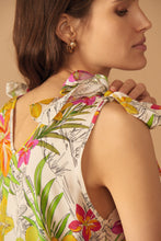 Load image into Gallery viewer, Leo & Ugo Botanical Print Summer Top