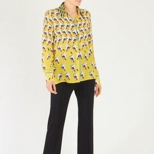 Marc Cain silk blouse PC51.06 W02