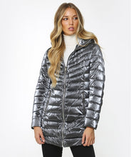 Load image into Gallery viewer, Rino & Pelle colette padded coat 700W20 (available in blue and grey) - Lucindas on-line