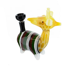 "Load image into Gallery viewer, 7"" Giraffe Water Piece - MoroKush"