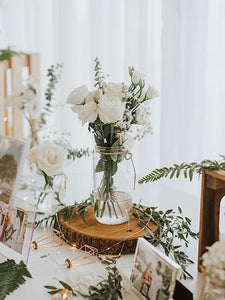Fresh Flowers for Photo Table