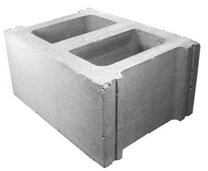 "12"" concrete wall (each)"