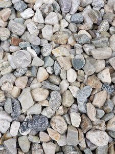 Smooth Native Gravel (per ton)