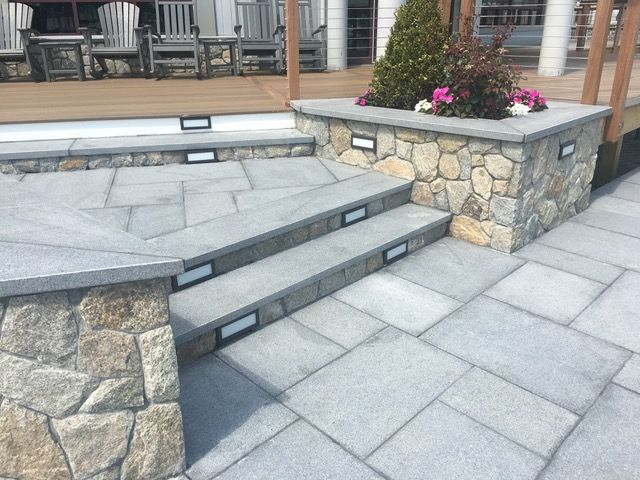 2 X 14 X 84 DARK GRAY GRANITE TREAD