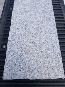 2 X 12 X 84 LIGHT GRAY GRANITE  THREAD