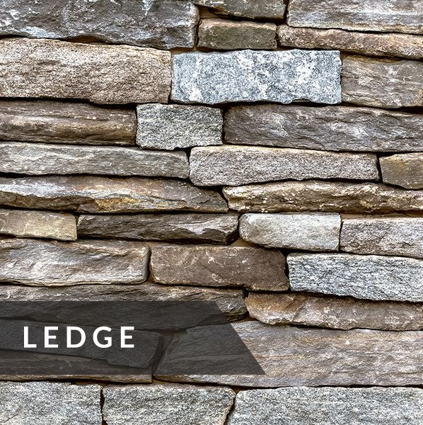 Weathered Fieldstone Ledge
