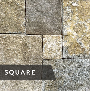 Weathered Fieldstone Square
