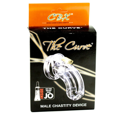 A. L. Enterprises Inc. The Curve Chastity Device Packaging