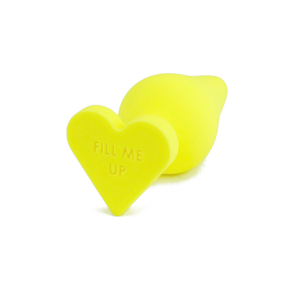 Naughtier Candy Heart Butt Plug