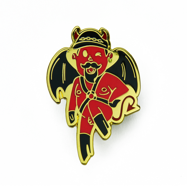 Devil Daddy Pin