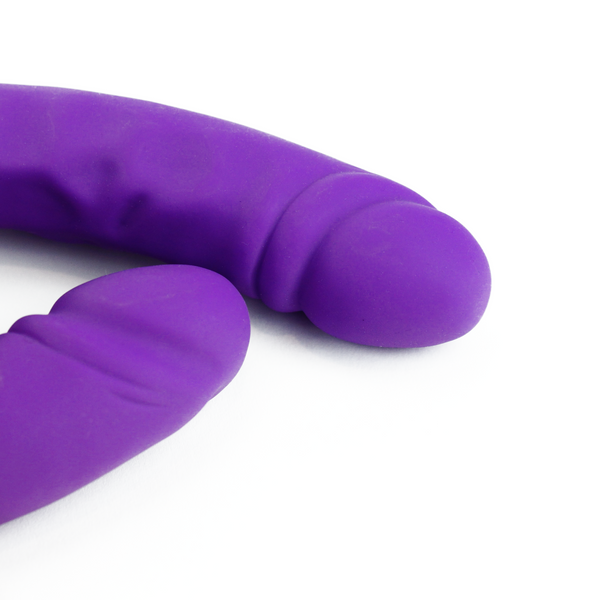 Ruse 18 Inch Silicone Slim Double Dong
