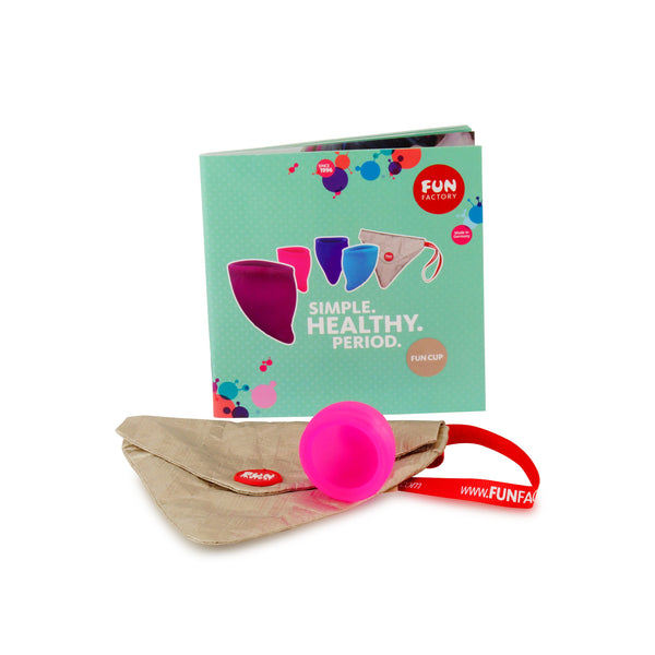 Fun Cup Size A Menstrual Cup Kit