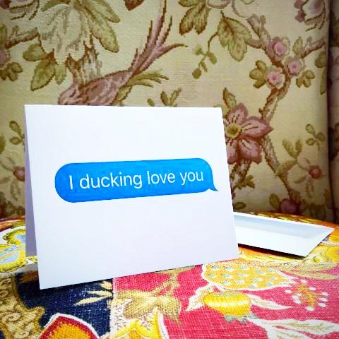 Autocorrect Greeting Card